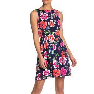 Host Pick!! Vince Camuto floral scuba Dress 14 NEW